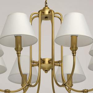 Lampa suspendată Consuelo Classic 8 Brass - 614011908 small 10