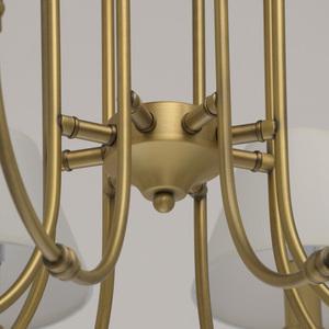 Lampa suspendată Consuelo Classic 8 Brass - 614011908 small 12