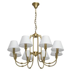 Lampa suspendată Consuelo Classic 8 Brass - 614011908 small 0