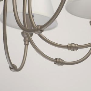 Lampa suspendată Consuelo Classic 8 Silver - 614012108 small 9