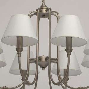 Lampa suspendată Consuelo Classic 8 Silver - 614012108 small 10