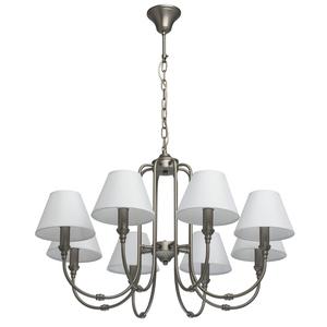 Lampa suspendată Consuelo Classic 8 Silver - 614012108 small 0