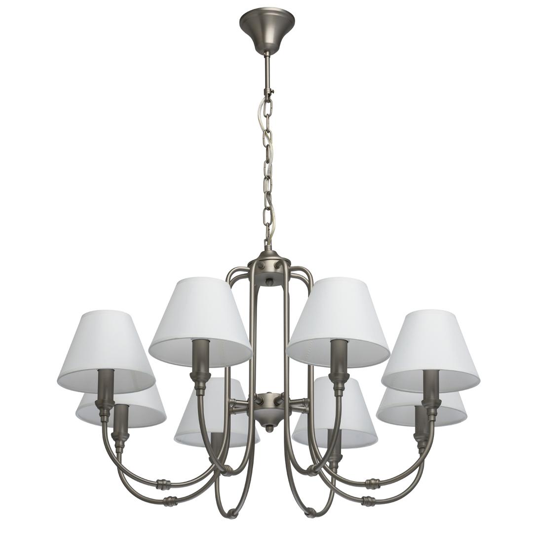 Lampa suspendată Consuelo Classic 8 Silver - 614012108