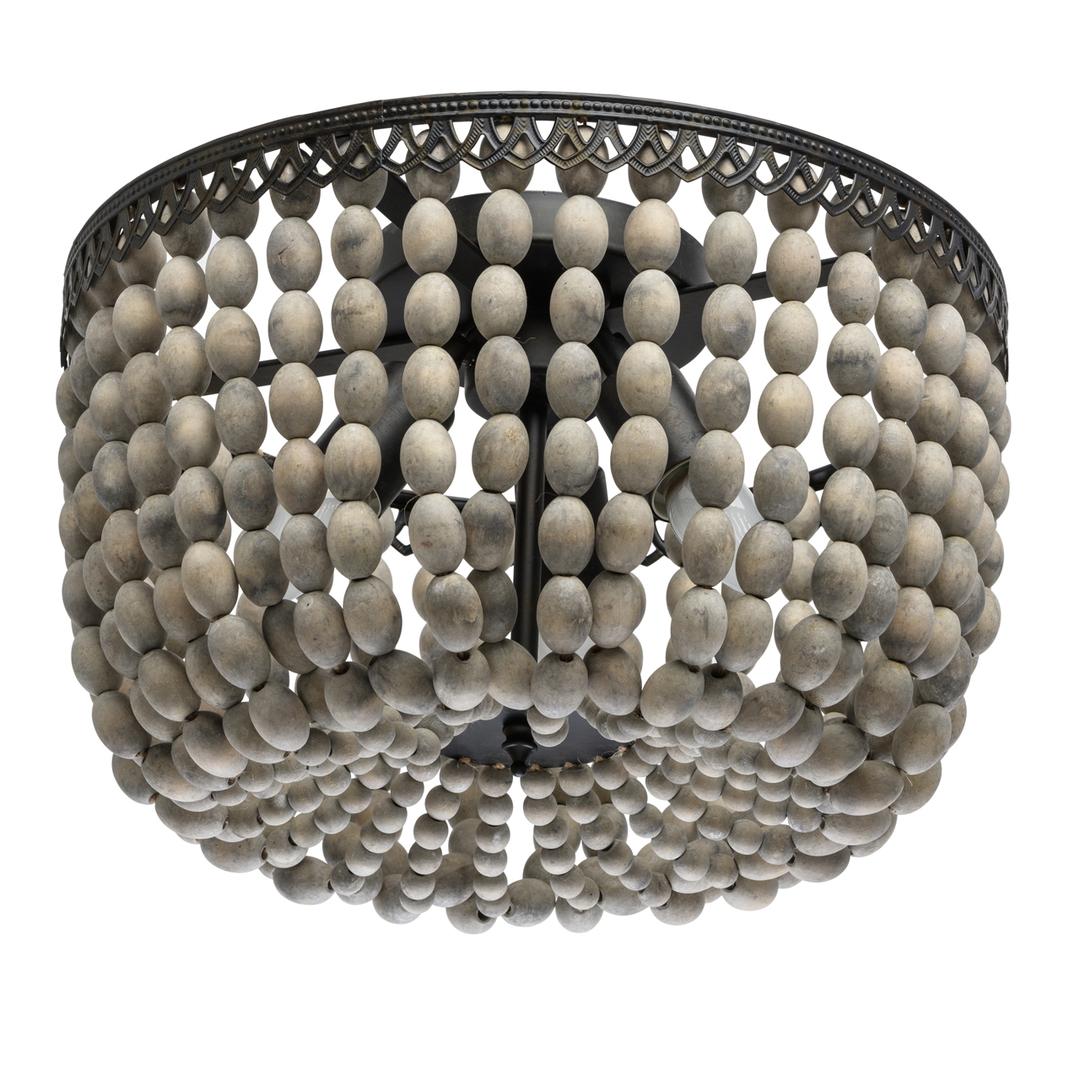 Lampa suspendată Loft 3 Beige - 679010803