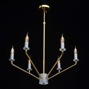 Lampa suspendată Hamburg Megapolis 6 Gold - 699010906 small 1