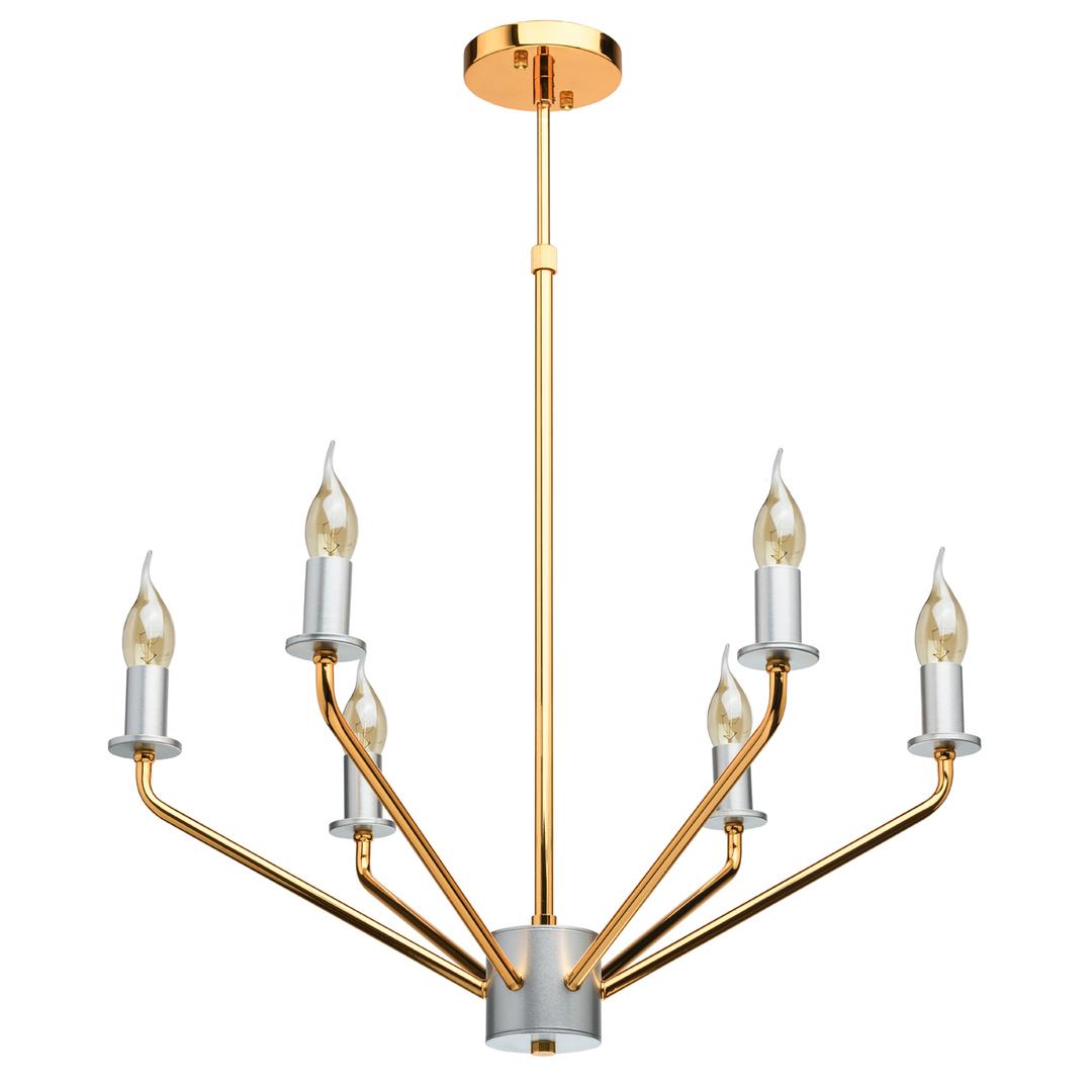 Lampa suspendată Hamburg Megapolis 6 Gold - 699010906