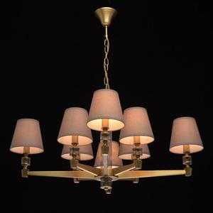 Lampa suspendată DelRey Classic 8 Brass - 700012208 small 1