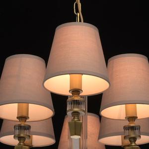 Lampa suspendată DelRey Classic 8 Brass - 700012208 small 9