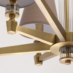 Lampa suspendată DelRey Classic 8 Brass - 700012208 small 11