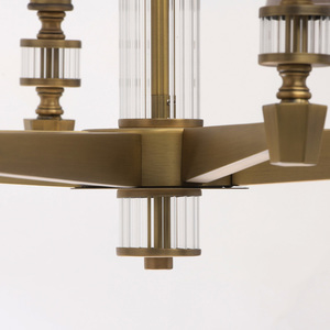 Lampa suspendată DelRey Classic 8 Brass - 700012208 small 2