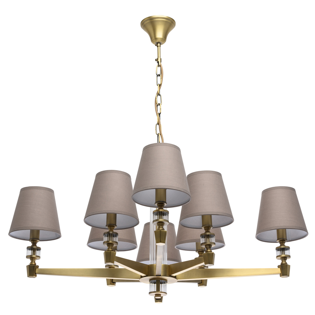 Lampa suspendată DelRey Classic 8 Brass - 700012208