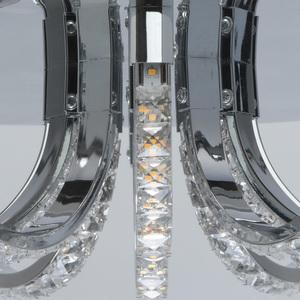 Lampa suspendată Venezia Crystal 50 Chrome - 276015001 small 8