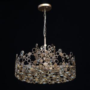 Lampa suspendată Monarch Loft 6 Brass - 121011206 small 7