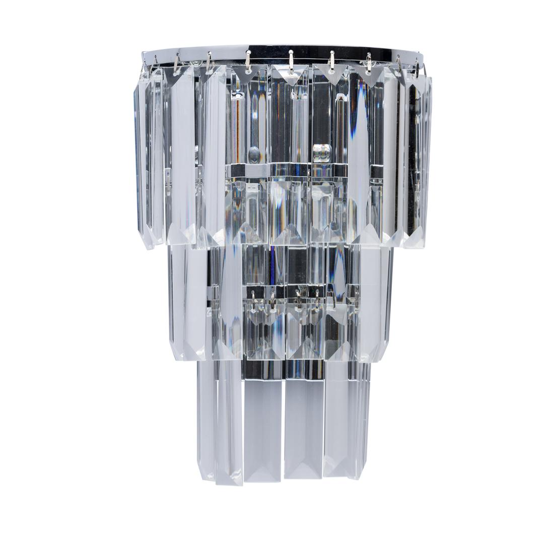 Lampă de perete Adelard Crystal 1 Chrome - 642022601