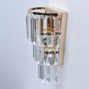 Lampă de perete Adelard Crystal 1 Gold - 642022701 small 3