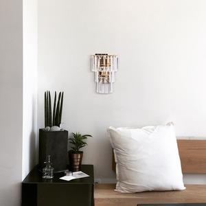 Lampă de perete Adelard Crystal 1 Gold - 642022701 small 5