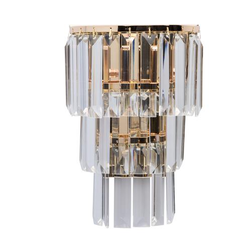 Lampă de perete Adelard Crystal 1 Gold - 642022701