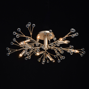 Lampa suspendată Adriatica Flora 10 Gold - 280011810 small 1