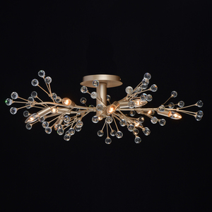 Lampa suspendată Adriatica Flora 10 Gold - 280011810 small 7