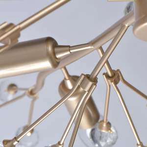 Lampa suspendată Adriatica Flora 10 Gold - 280011810 small 11