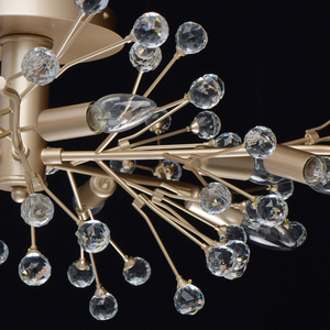 Lampa suspendată Adriatica Flora 10 Gold - 280011810 small 12