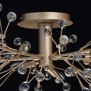 Lampa suspendată Adriatica Flora 10 Gold - 280011810 small 4