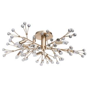 Lampa suspendată Adriatica Flora 10 Gold - 280011810 small 0