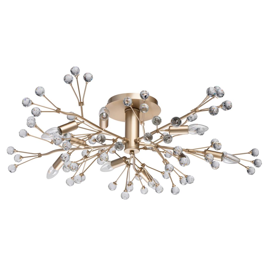 Lampa suspendată Adriatica Flora 10 Gold - 280011810