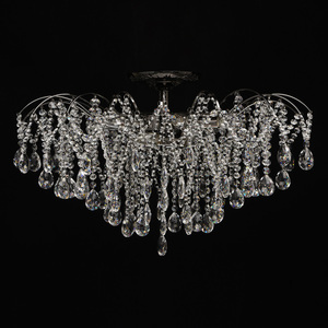 Lampa suspendată Venezia Crystal 9 Black - 464018809 small 5