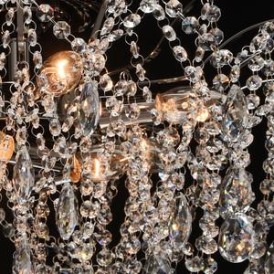 Lampa suspendată Venezia Crystal 9 Black - 464018809 small 7