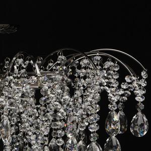 Lampa suspendată Venezia Crystal 9 Black - 464018809 small 8