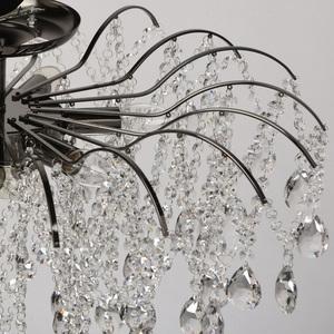 Lampa suspendată Venezia Crystal 9 Black - 464018809 small 9