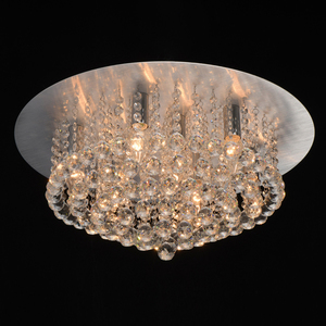 Lampa suspendată Venezia Crystal 9 Silver - 276014409 small 1
