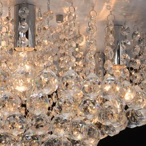 Lampa suspendată Venezia Crystal 9 Silver - 276014409 small 5