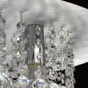 Lampa suspendată Venezia Crystal 9 Silver - 276014409 small 6
