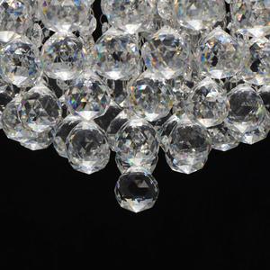 Lampa suspendată Venezia Crystal 9 Silver - 276014409 small 8