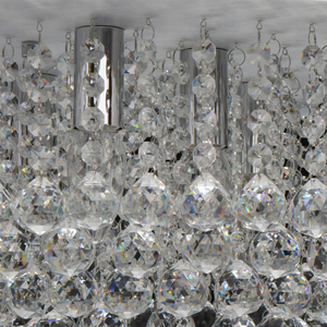 Lampa suspendată Venezia Crystal 9 Silver - 276014409 small 9