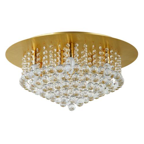 Lampa suspendată Venezia Crystal 9 Gold - 276014509