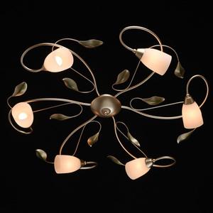 Lampa suspendată Verona Flora 6 Gold - 334013006 small 1