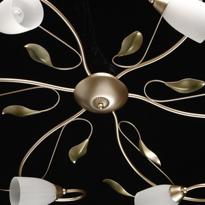 Lampa suspendată Verona Flora 6 Gold - 334013006 small 2