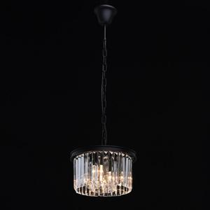 Lampa suspendată Goslar Crystal 3 Black - 498015103 small 1