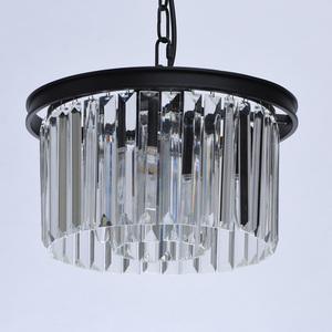Lampa suspendată Goslar Crystal 3 Black - 498015103 small 4