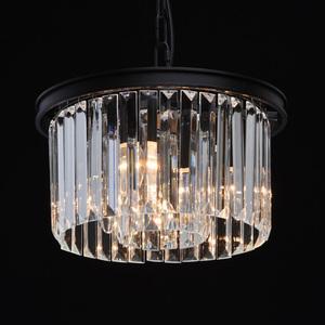 Lampa suspendată Goslar Crystal 3 Black - 498015103 small 5