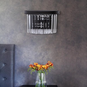 Lampă de perete Goslar Crystal 2 Black - 498025302 small 5