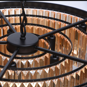 Lampa suspendată Goslar Crystal 10 Black - 498015010 small 13