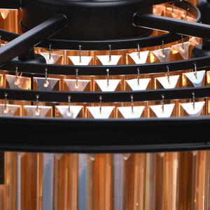 Lampa suspendată Goslar Crystal 10 Black - 498015010 small 14