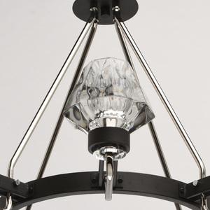 Lampa suspendată Loft 8 Black - 104012408 small 2