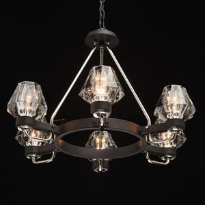 Lampa suspendată Loft 6 Black - 104012506 small 1