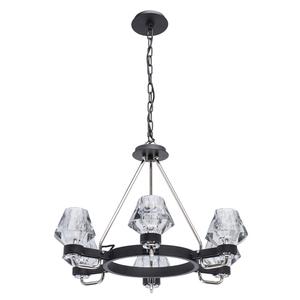 Lampa suspendată Loft 6 Black - 104012506 small 0