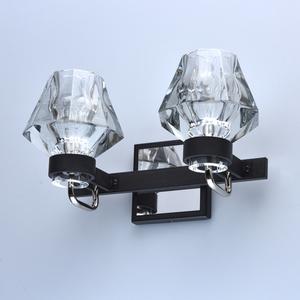 Lampa de perete Loft 2 Negru - 104022302 small 3